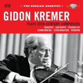 Historical Russian Archieves - Kremer plays 20th Century Composers